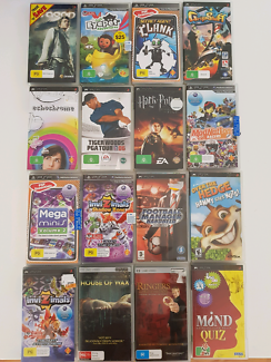 Sony PlayStation 2 Psp & wii games