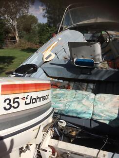 Quintex boat 13 ft