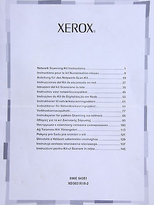Xerox Network Scanning Kit License For Workcentre 7232 7242