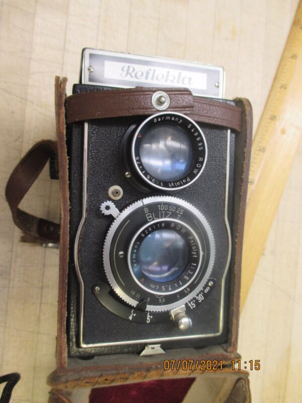 Vintage Reflecta German Camera  Not Tested Parts Only