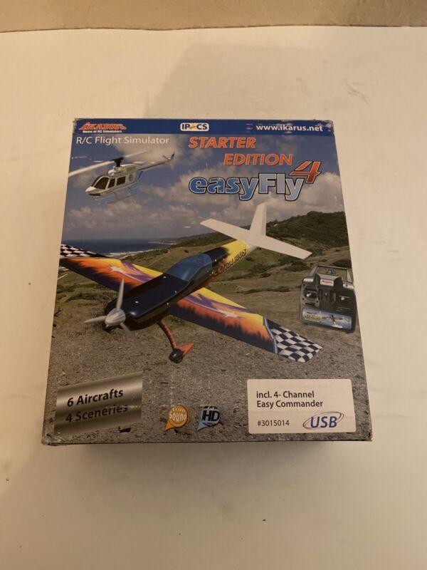 New Ikarus Easy Fly 4 Flight Simulator USB-Interface Version