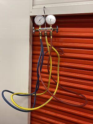 Yellow Jacket Manifold Gauge Set R-22r-12