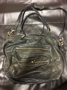 Marcs By Marc Jacob Soft Leather Black Handbag 47 Satchel Bag Br Purchased In London Used Once Lots Of Compartments Excellent Condition