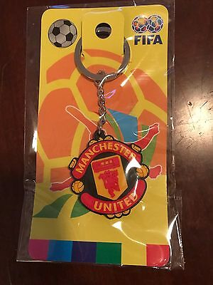 New Manchester United Badge Football Soccer Keychain Key Chain Ring Souvenir