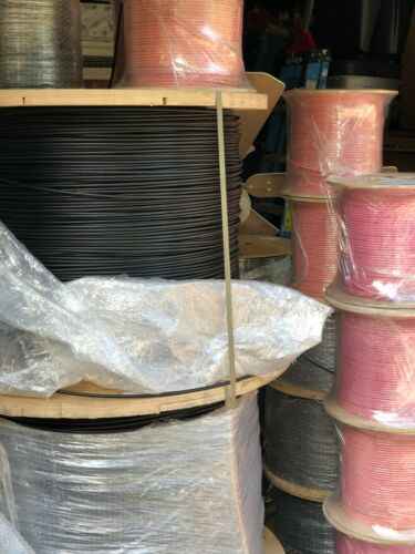 Armored cable for direct burial 24 fiber optic Corning SMF-28 reel 3000m/9842 ft