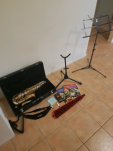 Jupiter Alto Saxophone with extra's Drewvale Brisbane South West Preview