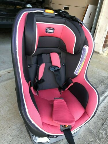 Two Chicco NextFit Zip Convertible Car Seats