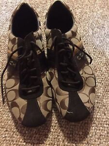 Authentic Coach running shoes