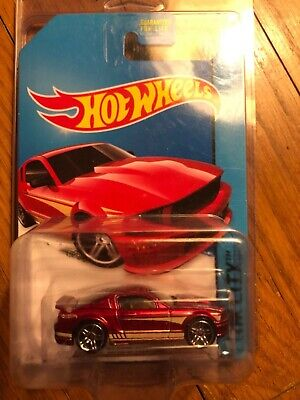 Hot Wheels 07 Ford Mustang all large wheels error variation