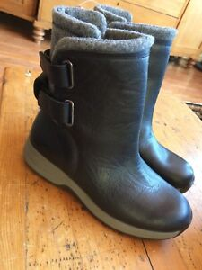 New Woolrich Leather Boots