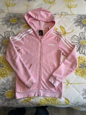 Adidas Hoody Girls Pink Age 12 Used