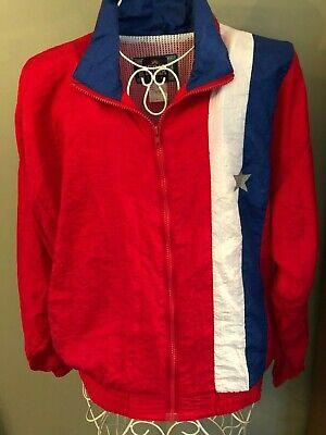 80's Workout Halloween Costume (Vintage Ladies KUMA Track Suit Nylon Jacket Work Out Set 80s S Halloween)