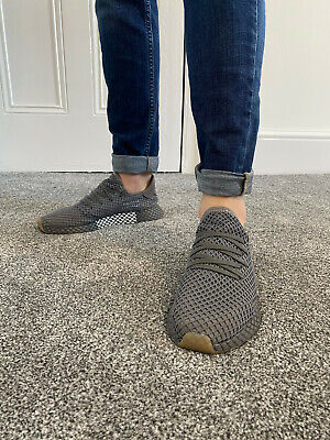 Adidas Deerupt. Grey/Silver UK 8. Unisex. Used - excellent condition.