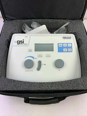 Used Grason Stadler Audiometer Gsi 18 Gsi18 Audio Meter Headphones With Case