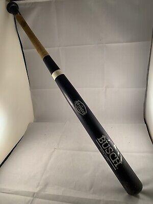 Vintage Adirondack Pro Ring 171 Softball Baseball Wooden Bat BUSCH Cardinals