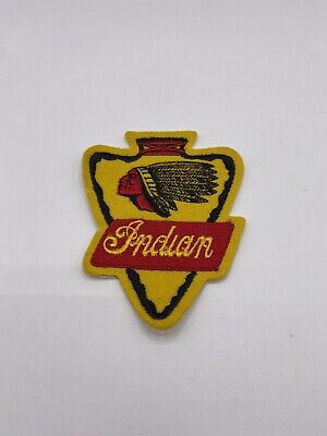 Vintage Rare Indian Motorcycle Patch Not A Repop