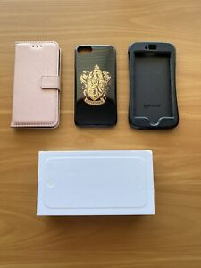 iPhone 6 64GB Silver and cases