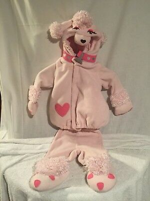 Old Navy 2-PC Pink Poodle Costume Toddler Size 12-24 Months - Poodle Costume Toddler