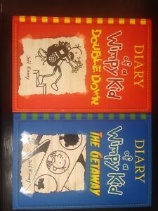 Diary of a Wimpy Kid 11 and 12 by Jeff Kinney