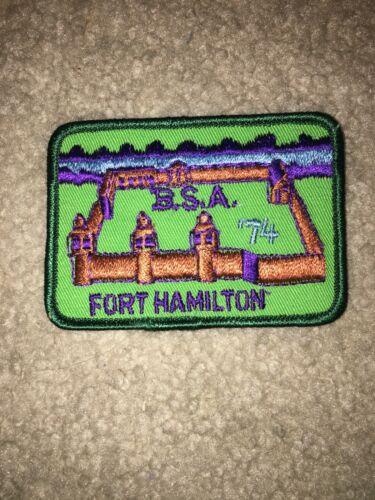 Boy Scout BSA Fort Hamilton Dan Beard Kentucky Ohio District CP DP Council Patch
