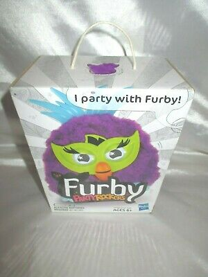 FURBY PARTY ROCKERS PURPLE GREEN BRAND NEW IN BOX (Green Party Box)