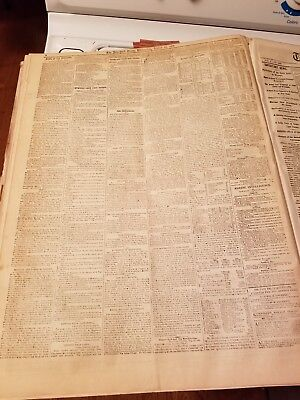 Bound Volume New York Times 1861 July To Dec Civil war Covers