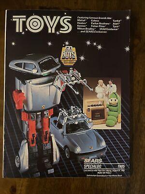RARE Vintage Sears Christmas Toy CATALOG 1985 Toys Mattel Kenner Star Wars