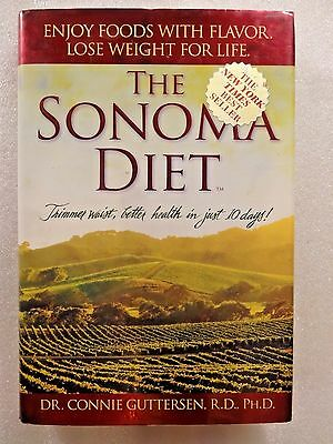 The Sonoma Diet  Guttersen 2005 Hc Trimmer Waist  Better Health  In Just 10 Days