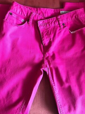 Junior's Women Pink Bowery Skinny Pant for girls, Size 16 (Ralph Lauren Pants For Girls)