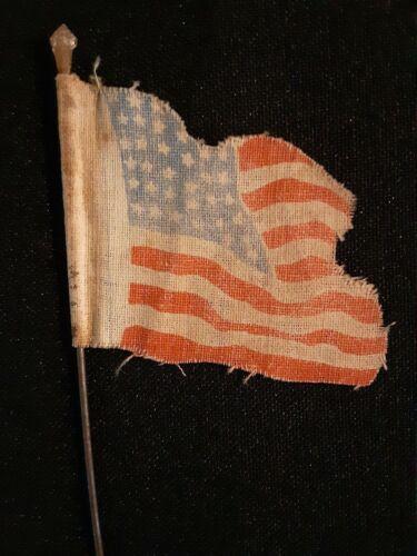 Antique Flag 36 Stars, Rare, Old Folk Art  Possibly Civil War era ?