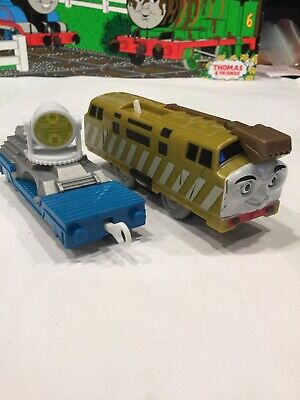 Thomas & Friends Trackmaster Diesel 10 Motorized & Search Rescue Spot Light
