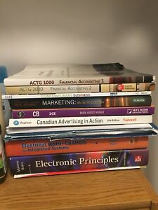 NSCC TEXTBOOKS - GREAT PRICE