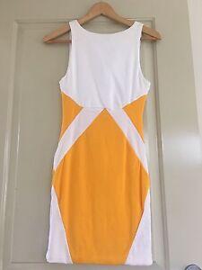 Kookai White orange dress new size 2 Everton Park Brisbane North West Preview