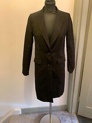 Carine Roitfeld Uniqlo Black Longline Jacket Size S Read Description