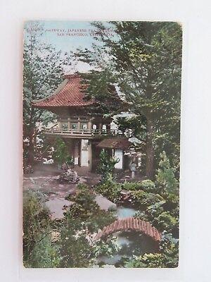 Tea Garden Golden Gate Park - Vintage Postcard  Japanese Tea Garden Golden Gate Park San Francisco CA 8317