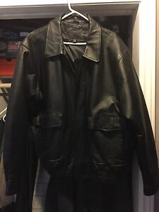 Xxl leather jacket