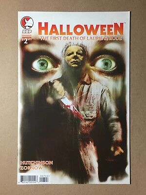 HALLOWEEN THE FIRST DEATH OF LAURIE STRODE #2 LEONARDO MANCO COVER MICHAEL MYERS - Halloween 2 Michael Myers Death