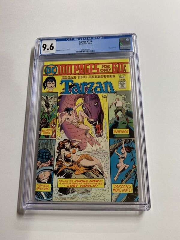 Tarzan 235 Cgc 9.6 White Pages Dc Bronze Age 100 Pages