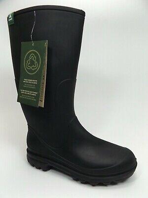 Kamik Women's Jessie Rain Tall Boot, Black, US SZ 6.0 M, NEW DISPLAY, D13912