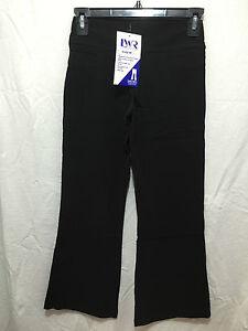 BNWT Girls Sz 12 Black Stretch Bootleg LW Reid Brand School Uniform Long Pants