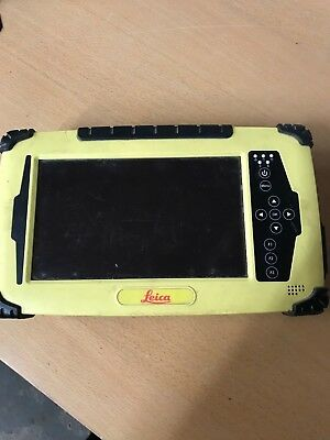 Leica Icon Cc61 7 Yellow Tablet Pc W Long Range Bt Batteries And Charger