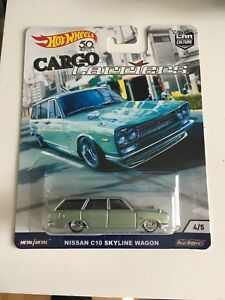 Hot Wheels Car Culture Cargo Carriers Nissan C10 Skyline Wagon
