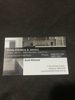 Divine Kitchens & Joinery.