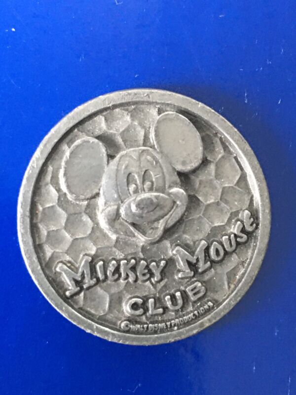 1970s Mickey Mouse Club Montgomery Ward Happy Birthday Collectors Coin
