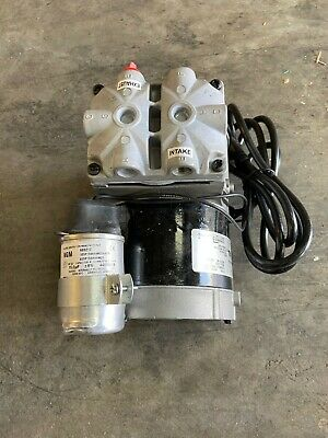 Thomas 688ce44 Piston Air Compressorvacuum Pump 13hp Hz 60