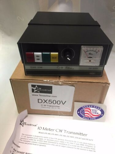 BRAND NEW TEXAS STAR DX-500V 2879 transistors CW AMPLIFIER Amp