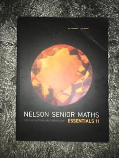 Nelson Senior Maths Essentials 11