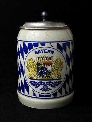 Bayern Beer stein Mug Germany (Vintage)