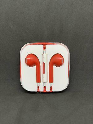 SALE!!! For Apple iPhone 6 7 8 X XR 11 Colours Earphone Headphones Handsfree Mic