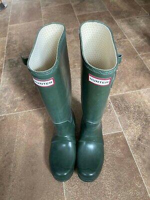 Hunter Wellies Green Size 4